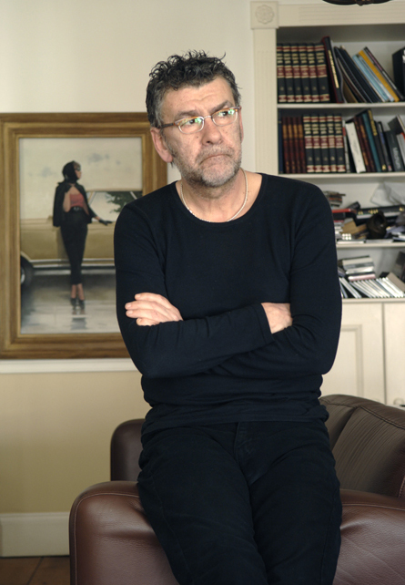 Jack Vettriano photographed by Charlie Hopkinson �2006. Tel 07976 402 891