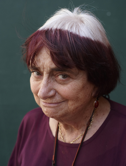 Agnes Varda, photographed by Charlie Hopkinson, � 2009