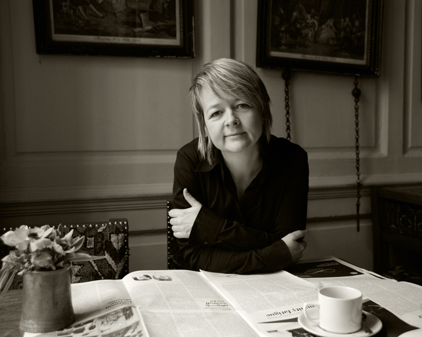 Sarah Waters photographed by charlie Hopkinson �