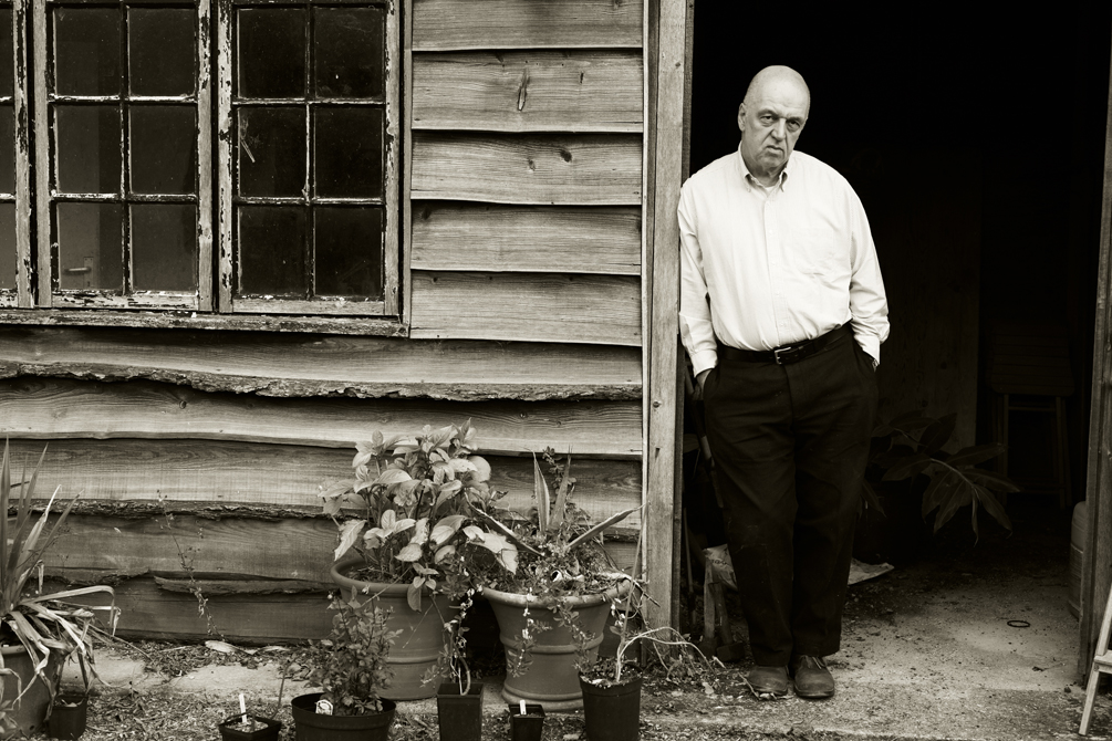 James Fenton photographed by charlie Hopkinson �
