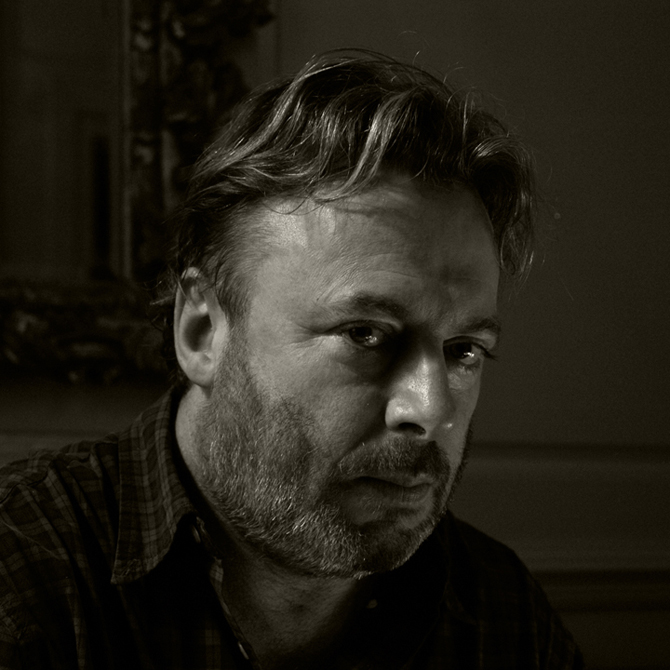 Christopher Hitchins photographed by charlie Hopkinson �